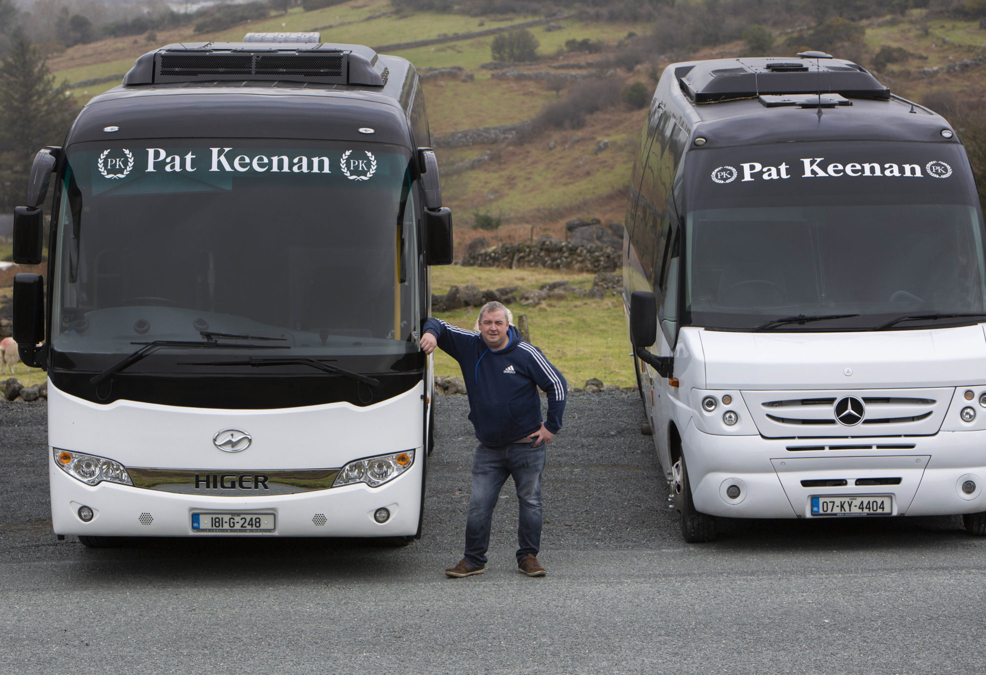 Private Bus and mini bus hire Carlingford, Co Louth